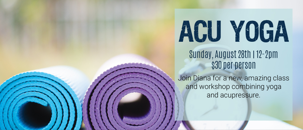 ACU Yoga Sign Up at Essence Toledo